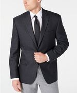 Lauren Ralph Lauren - Men´s Classic-Fit UltraFlex Stretch Gray - Blue Mini-Check Sport Coat