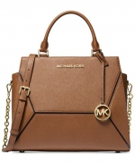 MICHAEL Michael Kors - Prism Saffiano Leather Satchel