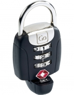 Go Travel - Twist ´N´ Set Lock - Black