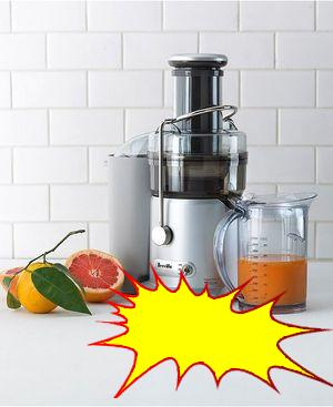 Breville - JE98XL 2-Speed Juice Fountain Juicer